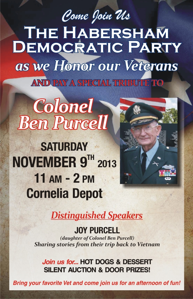 Come celebrate and bring your favorite Veteran